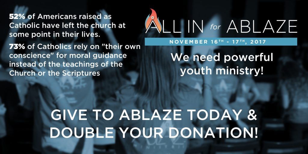 all in for ablaze give