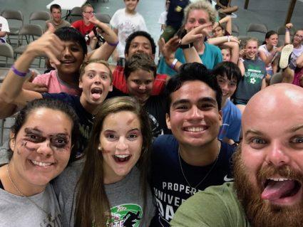camp basic 2017, summer middle school camp, catholic