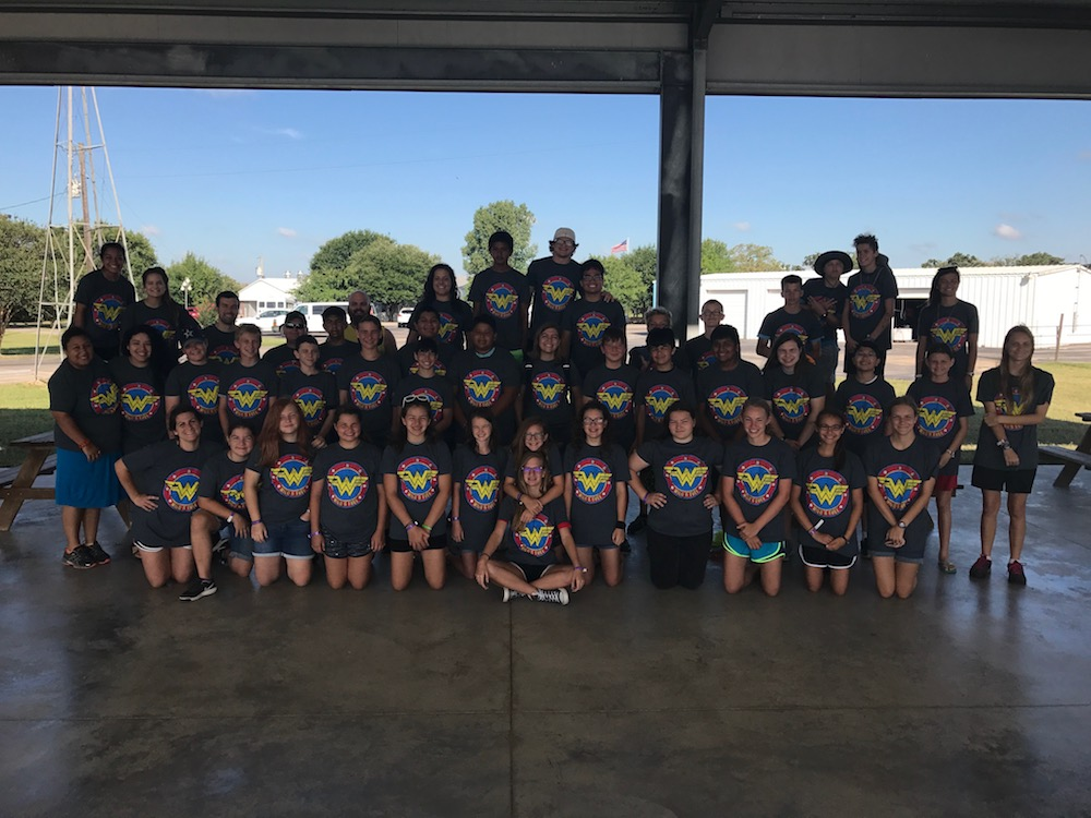 camp basic 2017, summer middle school camp, catholic