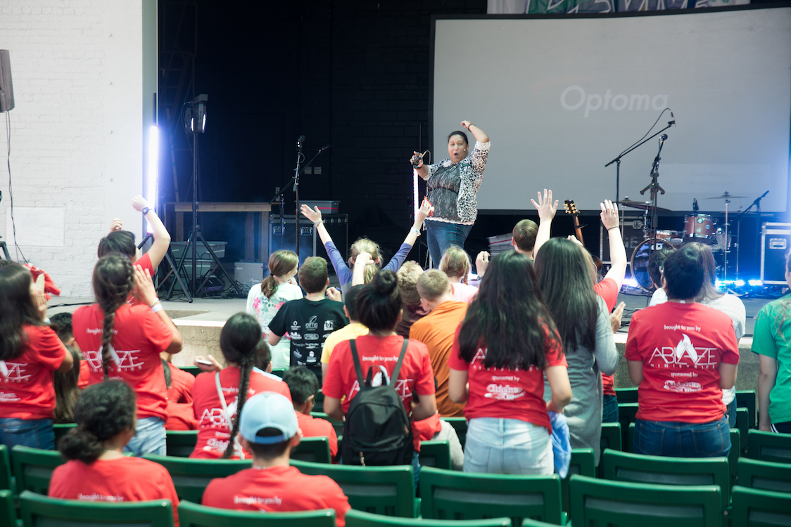 revive youth rally 2017, catholic, christian, youth ministry